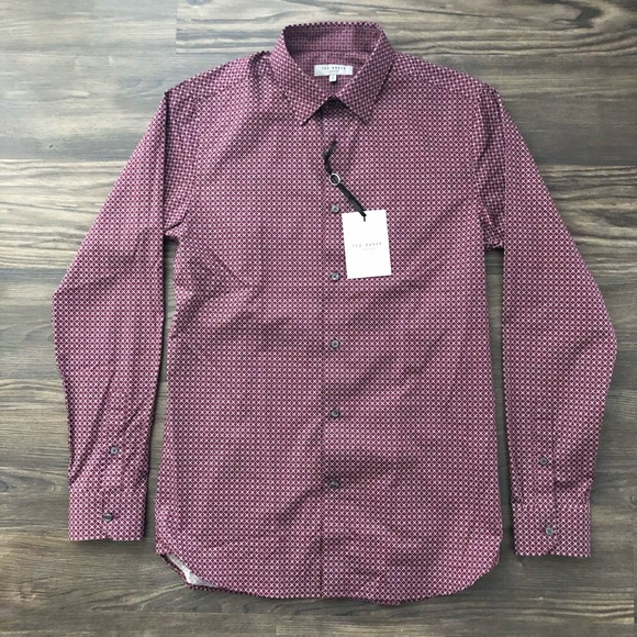 Baker Button Down Nwt nwt Ted